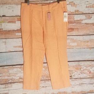 VINEYARD VINES Linen crop pants 12